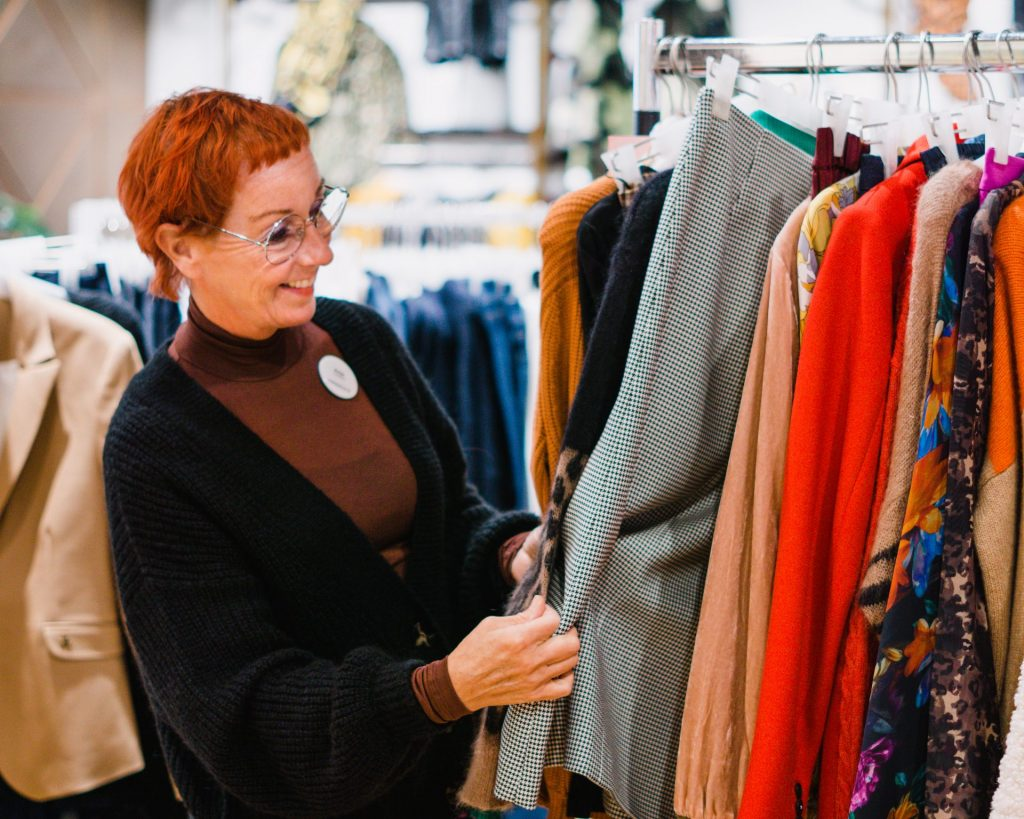 Personal shopping Anja mooimaker